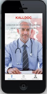 KallDoc. A doctor in seconds.- screenshot thumbnail