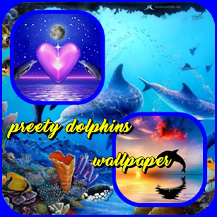 preety dolphins wallpaper - náhled