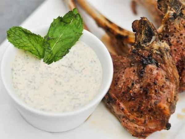 Lamb With Yogurt Mint Sauce Recipe