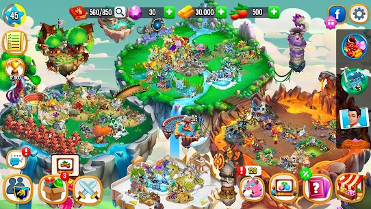 Dragon City MOD APK v9.7 (Unlimited Money,Coins & Food) 7