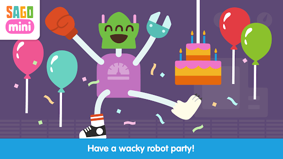 Sago Mini Robot Party- screenshot thumbnail