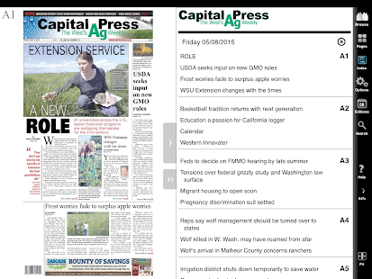 Capital Press e-Edition- screenshot thumbnail