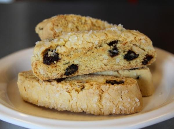 Cherry Almond Biscotti Recipe