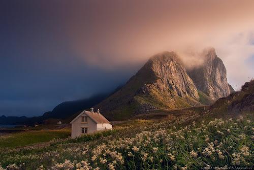 North vs South by Danil Korzhonov - Landscapes Mountains & Hills ( lofoten, norway )