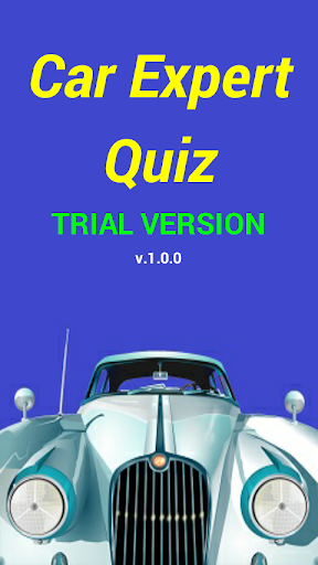 Car Expert Quiz - Trial