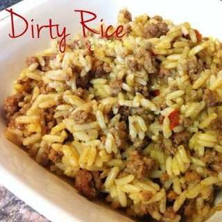 Southern Style Dirty Rice.