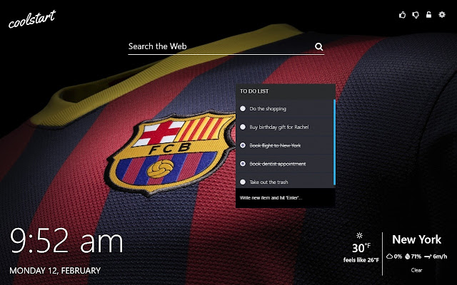 Fc Barcelona Hd Wallpapers New Tab Theme