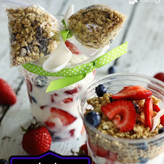 Grab and Go Make Ahead Breakfast Parfaits