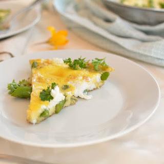 Asparagus Goat Cheese Frittata