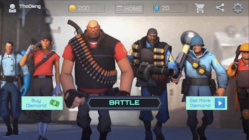 Heroes Strike PvP: MOBA and Battle Royale apklade screenshots 1
