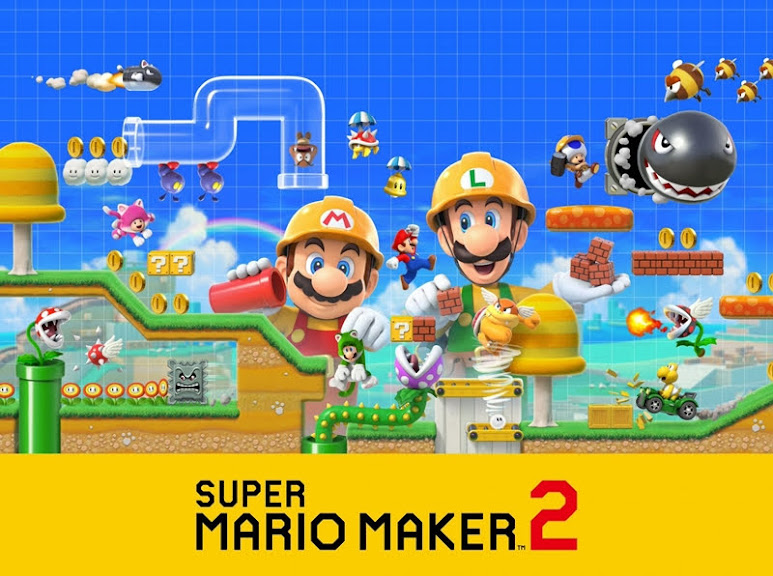 Game Release June Super Mario Maker 2