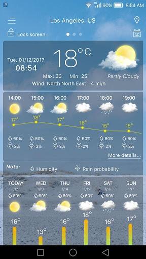 Weather  screenshots 2