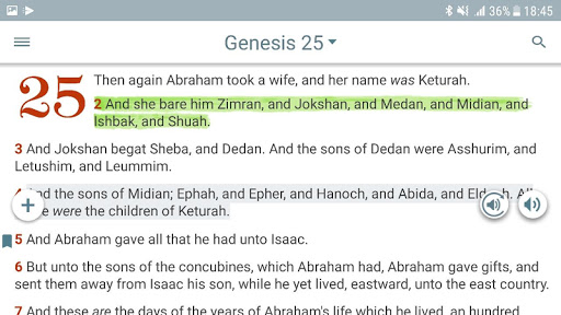 Bible KJV with Apocrypha, Enoch, Jasher, Jubilees 5.7.1 screenshots 12