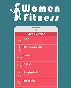 fitness for women : workout screenshot 11