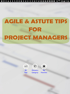 Agile Project Manager Tips- screenshot thumbnail