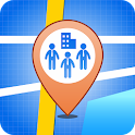 Employee Location (Tracking) icon