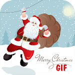 Christmas gif Wishes Icon