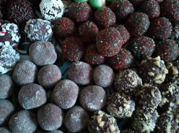 Easy No-bake Fudge/truffles Recipe