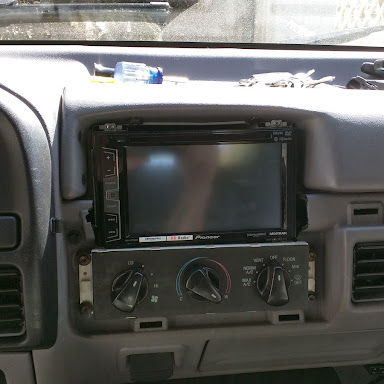 Double Din conversion - Ford Bronco Forum