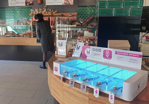 maitre daniel boulangerie snacking recharge telephone offerte à peynier