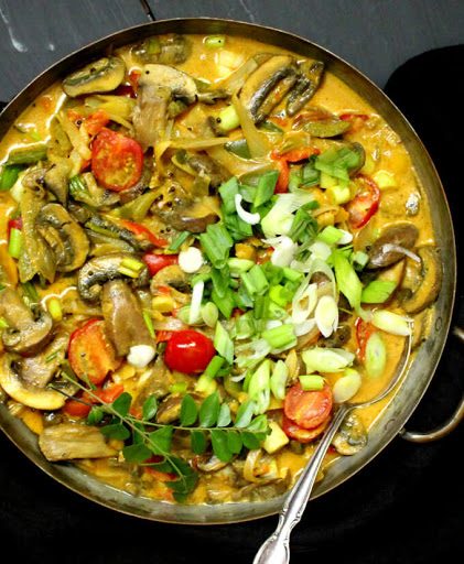 20-minute Best Vegetable Curry