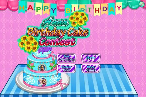 安娜生日蛋糕挑战