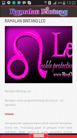 android Ramalan Bintang & Jodoh Screenshot 4