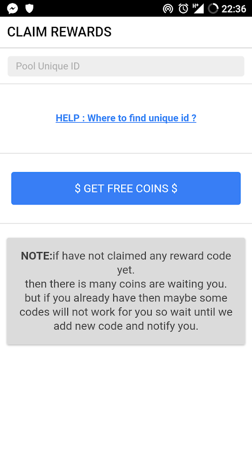 Free coins - Pool Instant Rewards- screenshot