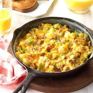 Country-style Scrambled Eggs Recipe