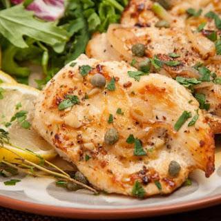 Lighter Chicken Piccata