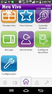 Meu Vivo App- screenshot thumbnail