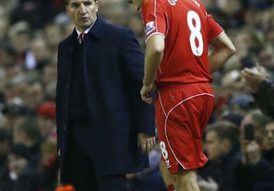 """Rodgers: """"Gerrard ne jouera plus chaque semaine"""""""