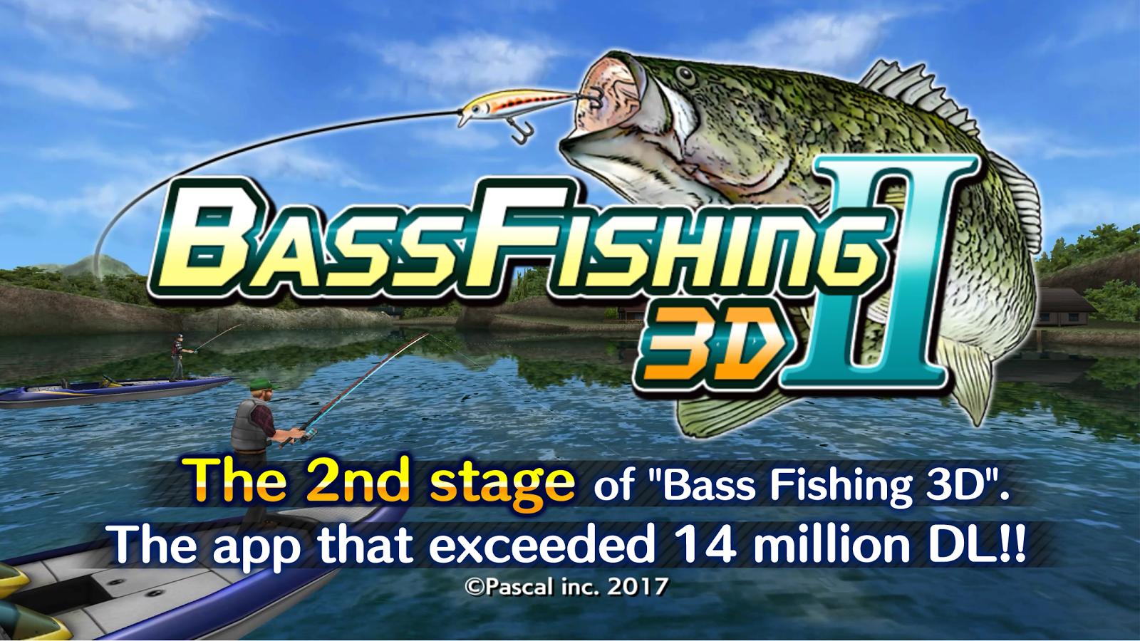 Bass fishing 3d ii android apps on google play for Bass pro shop fishing games
