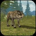 Wild Wolf Simulator 3D icon