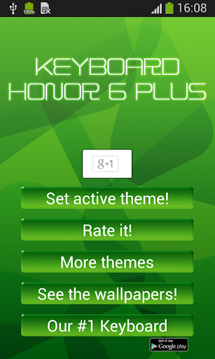 Keyboard for Honor 6 Plus