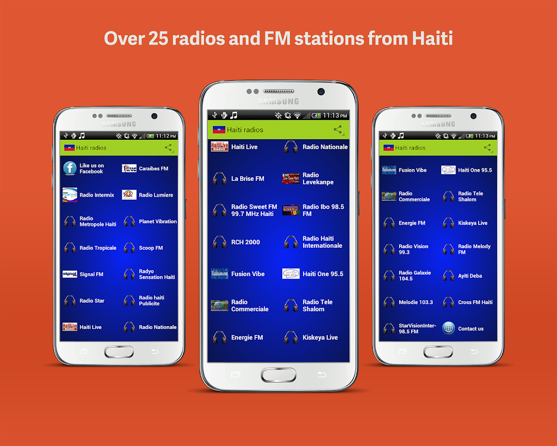 Haiti Radios- screenshot