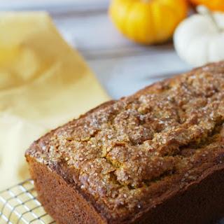 Easy Gluten Free Pumpkin Caramel Loaf