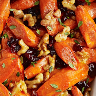 Glazed Carrots Dried Cranberries Recipes