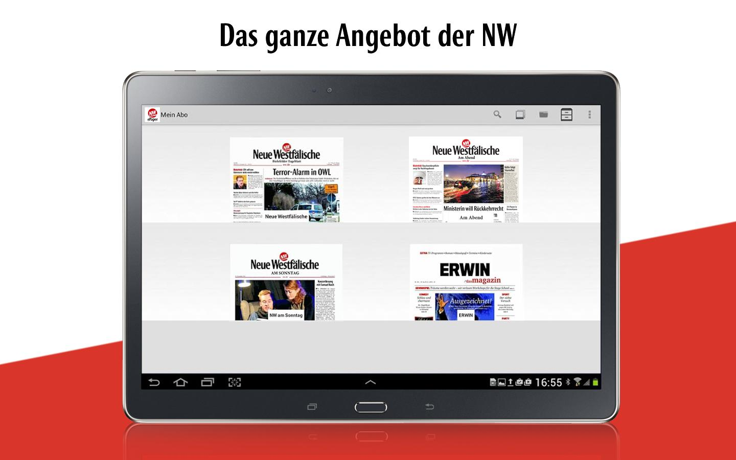 nw epaper f r bielefeld owl android apps auf google play. Black Bedroom Furniture Sets. Home Design Ideas