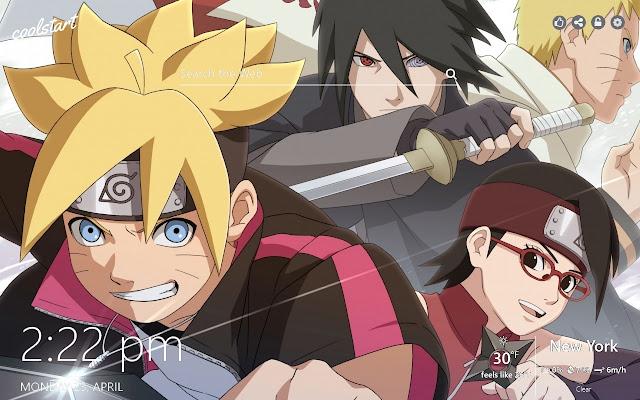 Boruto Hd Wallpapers Naruto New Tab Theme