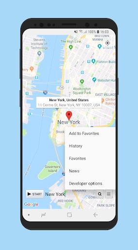 Location Changer (Fake GPS Location) 2.2 screenshots 1