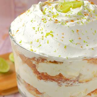 Key Lime Trifle.