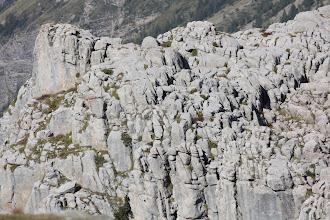 Photo: Une intense érosion glaciaire a modelé ce paysage.