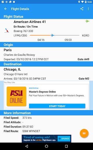 FlightAware Flight Tracker 5.5.1 screenshots 18