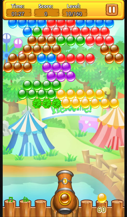Bubble Shooter - 4 Seasons- screenshot