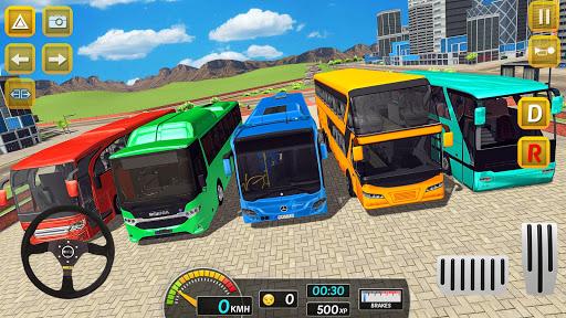 Modern City Bus Drive Parking Games-WG Bus Game 1.18 screenshots 5