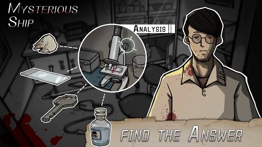 The mysterious ship - Find the clue apktram screenshots 1