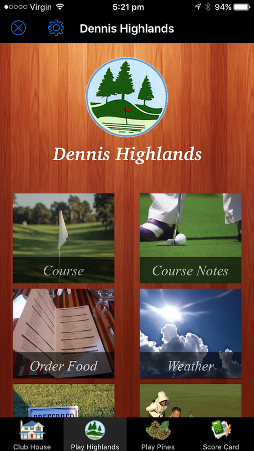 Dennis Golf- screenshot