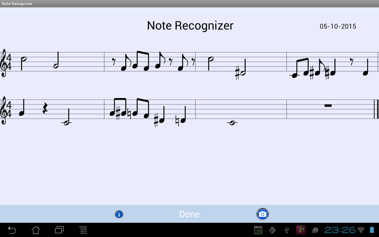 Note recognizer android apps on google play note recognizer screenshot buycottarizona
