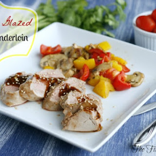Sesame Glazed Pork Tenderloin